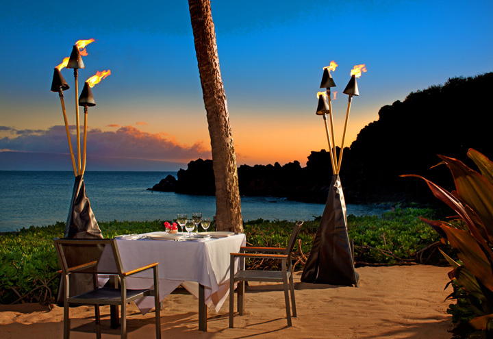 Private Dinner Under the Stars Cupid Menu - Pu'u Wai