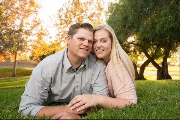 Crystal Slininger and Chad Voss